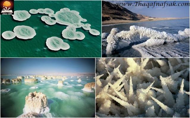 ✰✰ الأردن _سياحة علاجية و جولة في التاريخ القديم_✰✰ dead-sea-salt-crysta