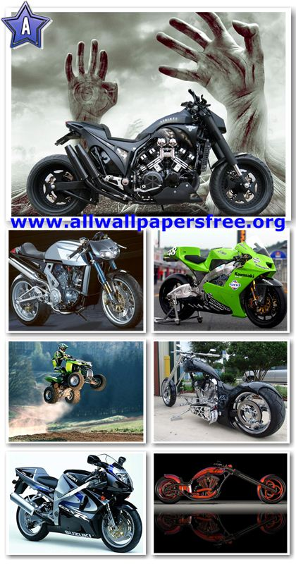50 Great Motorcycle Wallpapers 1024 X 768 [Set 4]