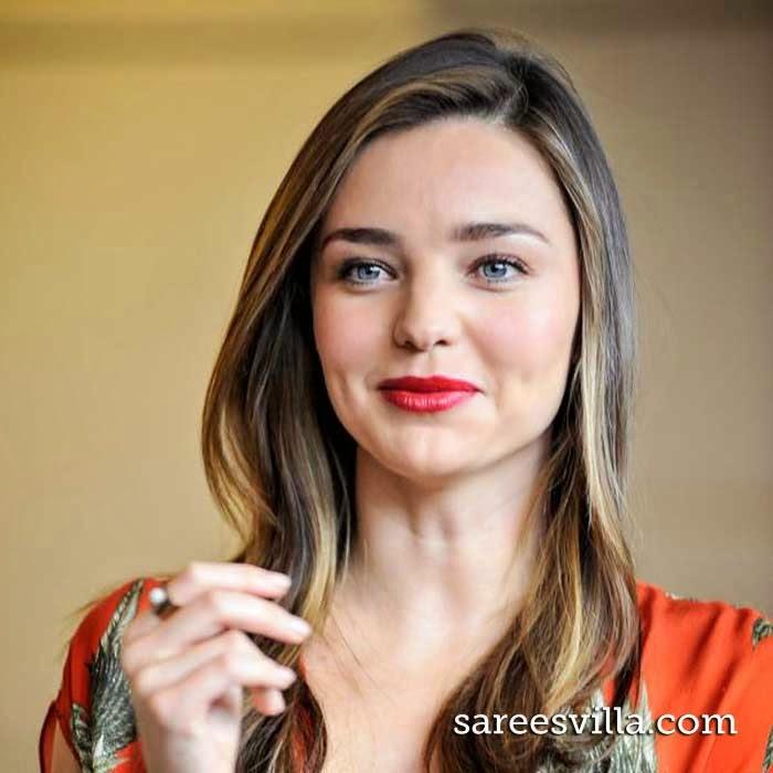 Australian model Miranda Kerr