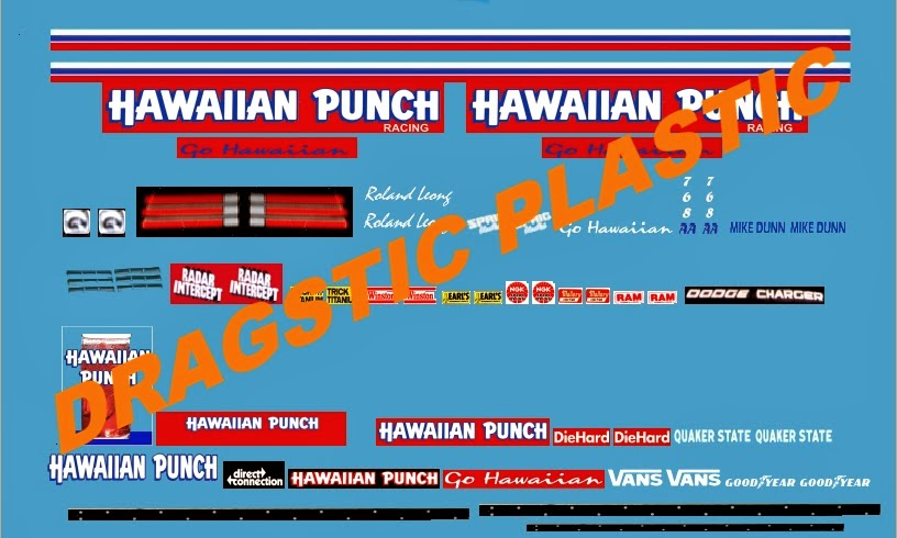 Shipping A Car >> Dragstic Plastic: Mike Dunn's 1983 Hawaiian Punch Funny ...