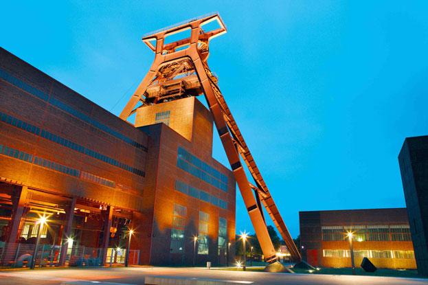 Zollverein Coal Mine Industrial Complex in Essen Germany