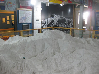 Model of Mt. McKinley
