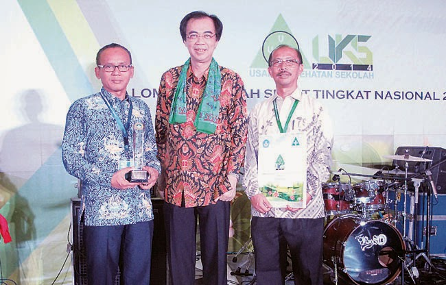 SMA YPK Bontang Juara III LSS Nasional