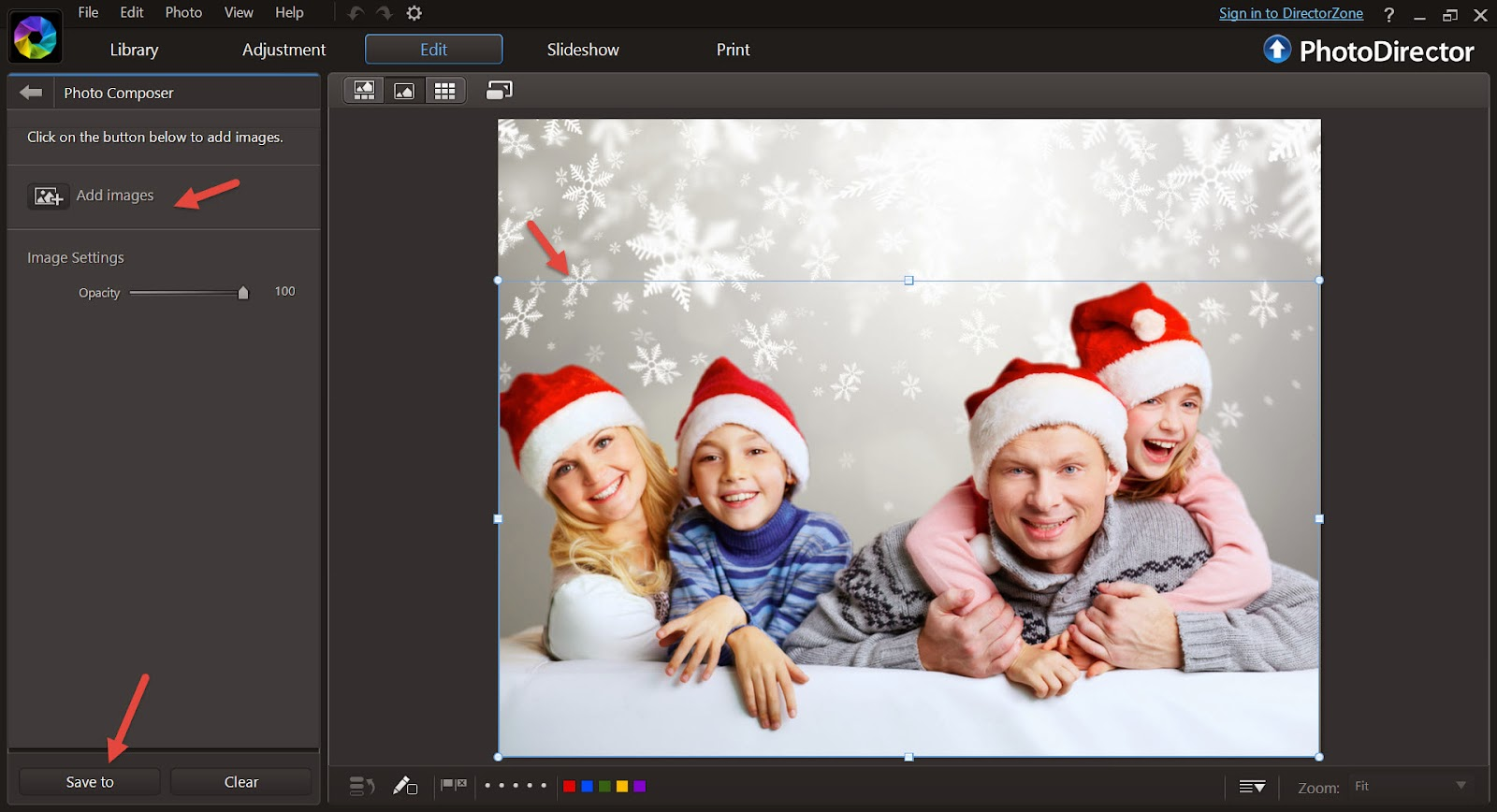 Create Play 3 Steps To Create A Holiday Family Photo Greeting
