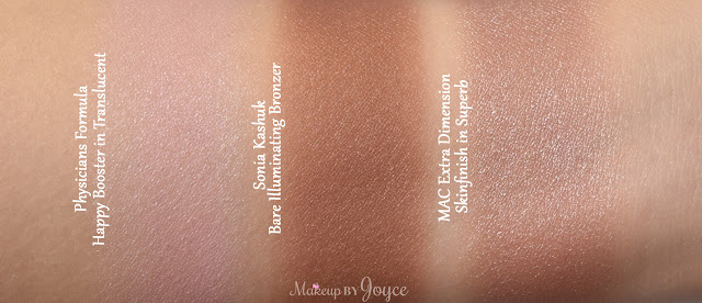 Sonia Kashuk Bare Illuminating Bronzer in Goddess 40 Swatch