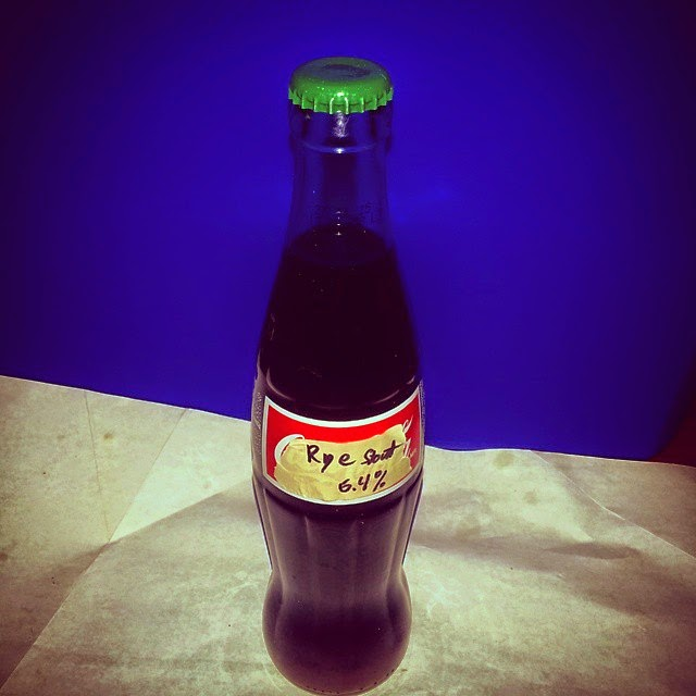 Mexican coke bottle homebrew