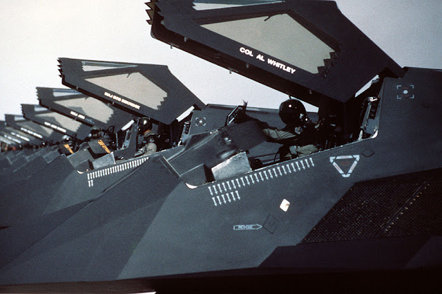 F-117 Nighthawk mission