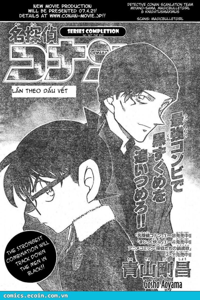 Detective Conan - Thám Tử Lừng Danh Conan chap 598 page 1 - IZTruyenTranh.com