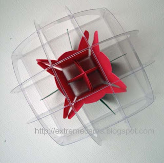 sliceform acetate paperweight