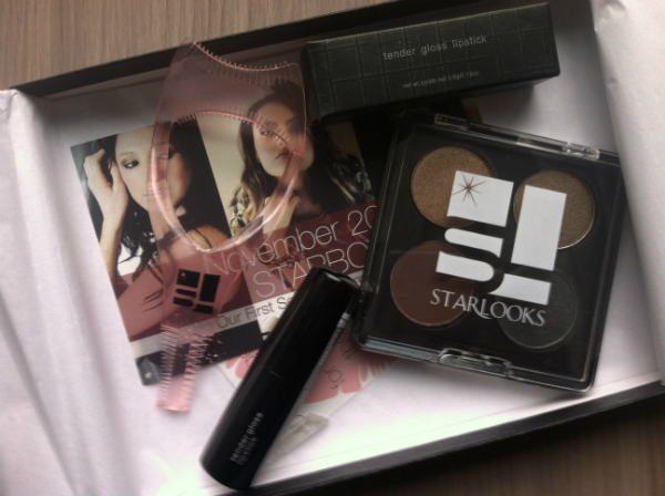 Star Box by StarLooks - November 2012 Review - Monthly Beauty and Makeup Subscription Boxes