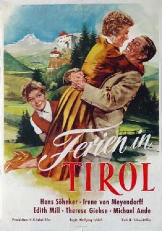 Нежная тайна / Zartliches Geheimnis / Ferien in Tirol. 1956.