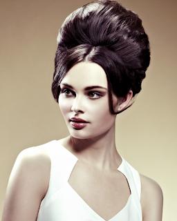 Trend model dan gaya rambut beehive