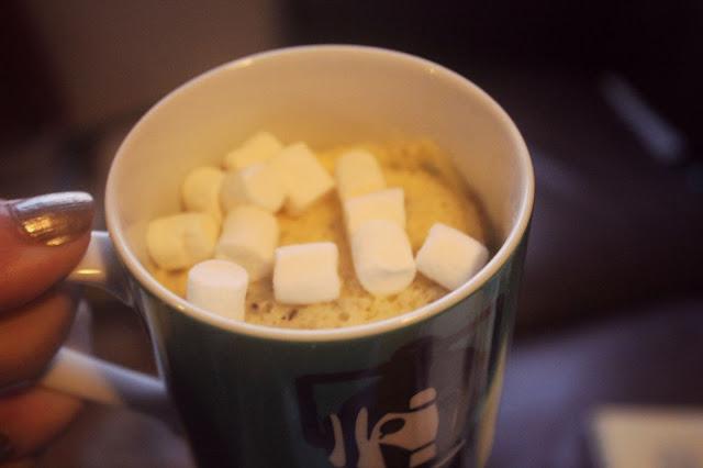 microwave cakes marshmallows