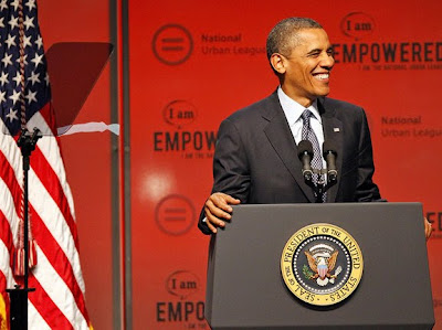 President Obama Speaking at Urban League Conference