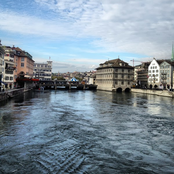 Zürich Limmat See Schweiz