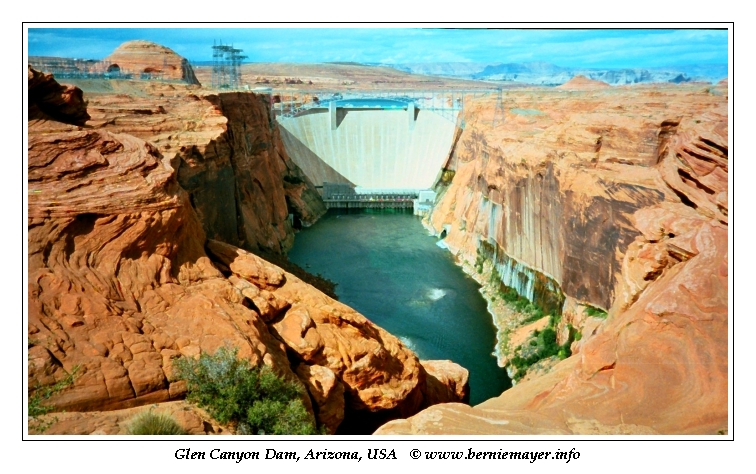 Glen Canyon Dam 2002