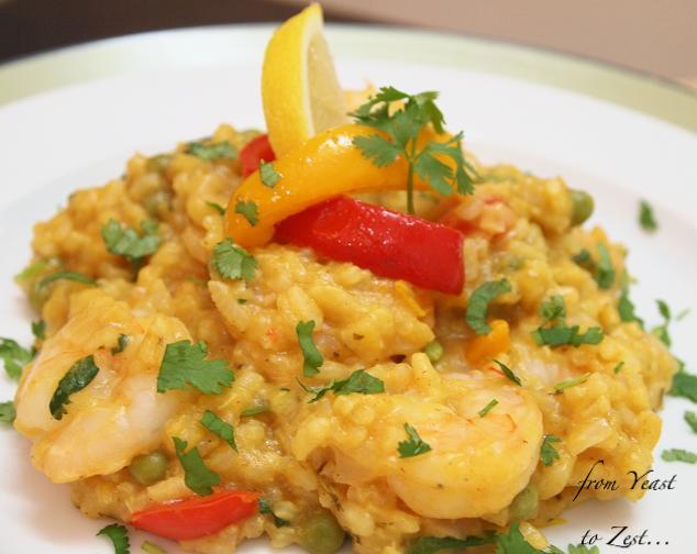 Paella arborio rice