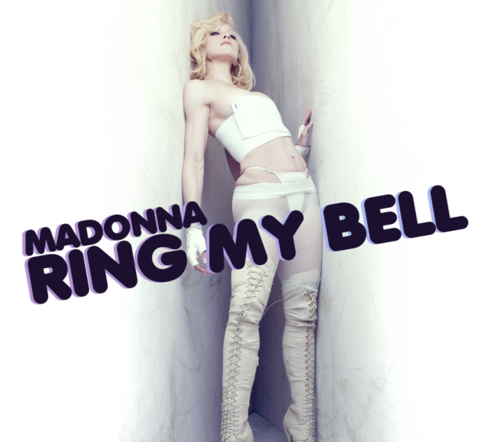Ring My Bell  Fanmade Cover  MADONNA FANMADE ARTWORKS