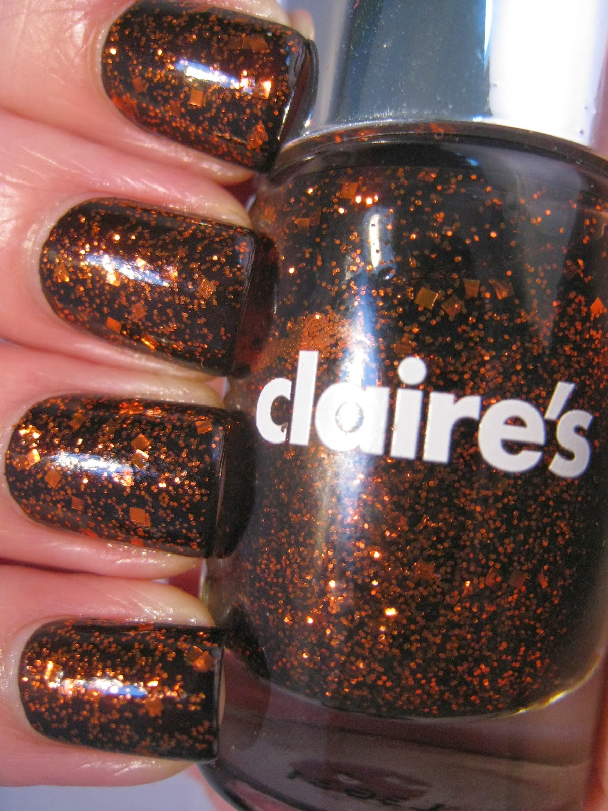 Naily perfect: Bronze Medal by Claires swatch