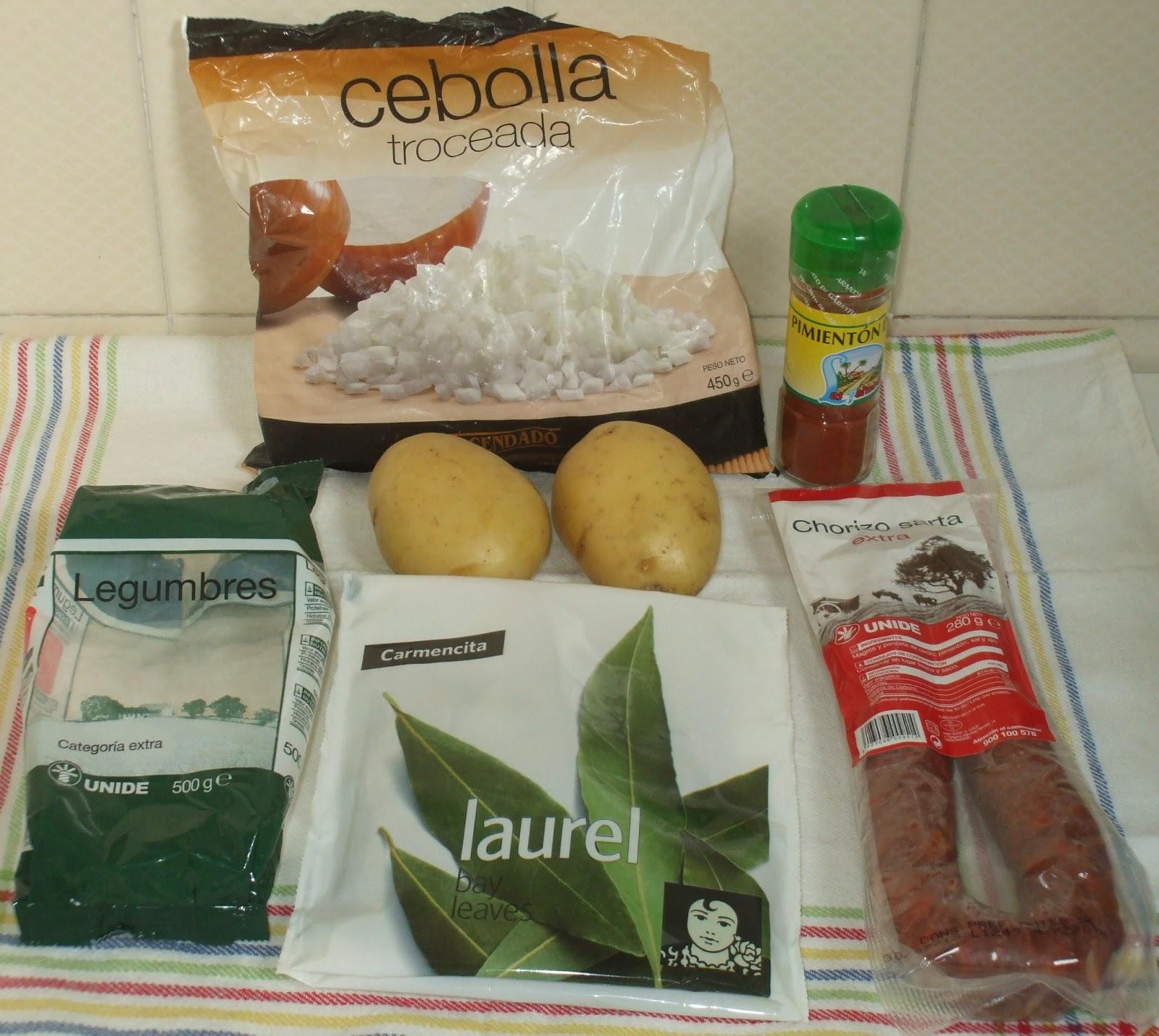 Chimichurri y a lo loco alubias pintas - Como cocinar alubias pintas ...