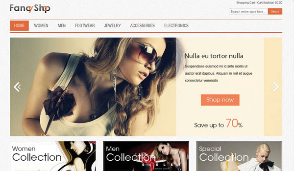 Fancy Clothing Magento Theme