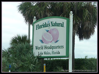 Florida's Natural Brand World Headquarters sign