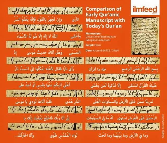 Al Quran TERTUA Di Temui Di Universiti Birmingham