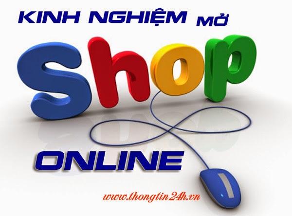 Kinh nghiệm mở shop quần áo thời trang online