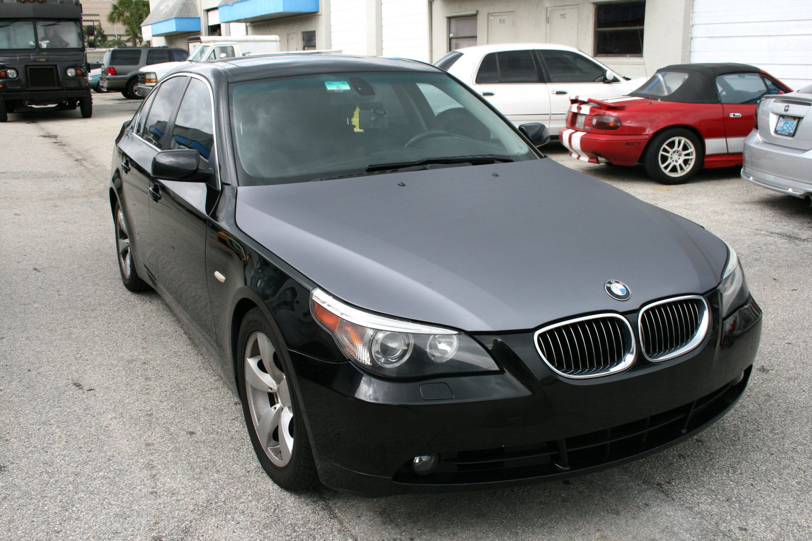 Coral Gables Bmw 5 Series Anthracite Silver Carbon Fiber