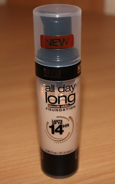 NYC All Day Long Smooth Skin Foundation Review