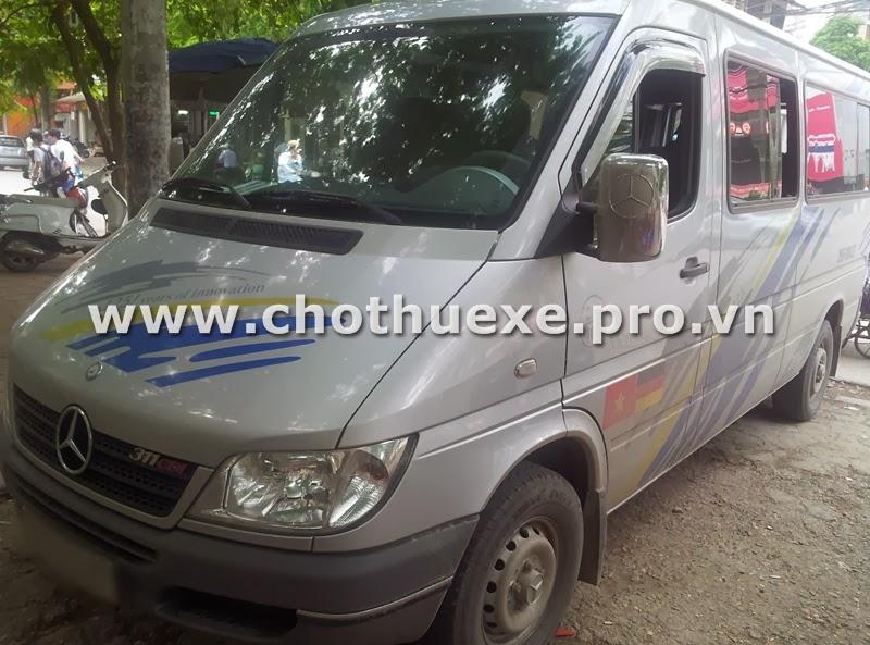 Cho thuê xe 16 chỗ tại Hà Nội giá rẻ du lịch lễ hội