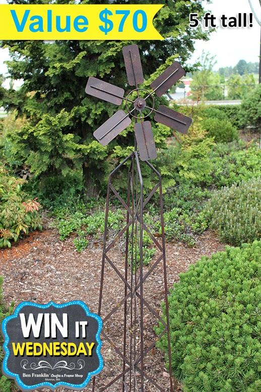 Garden Stake Windmill