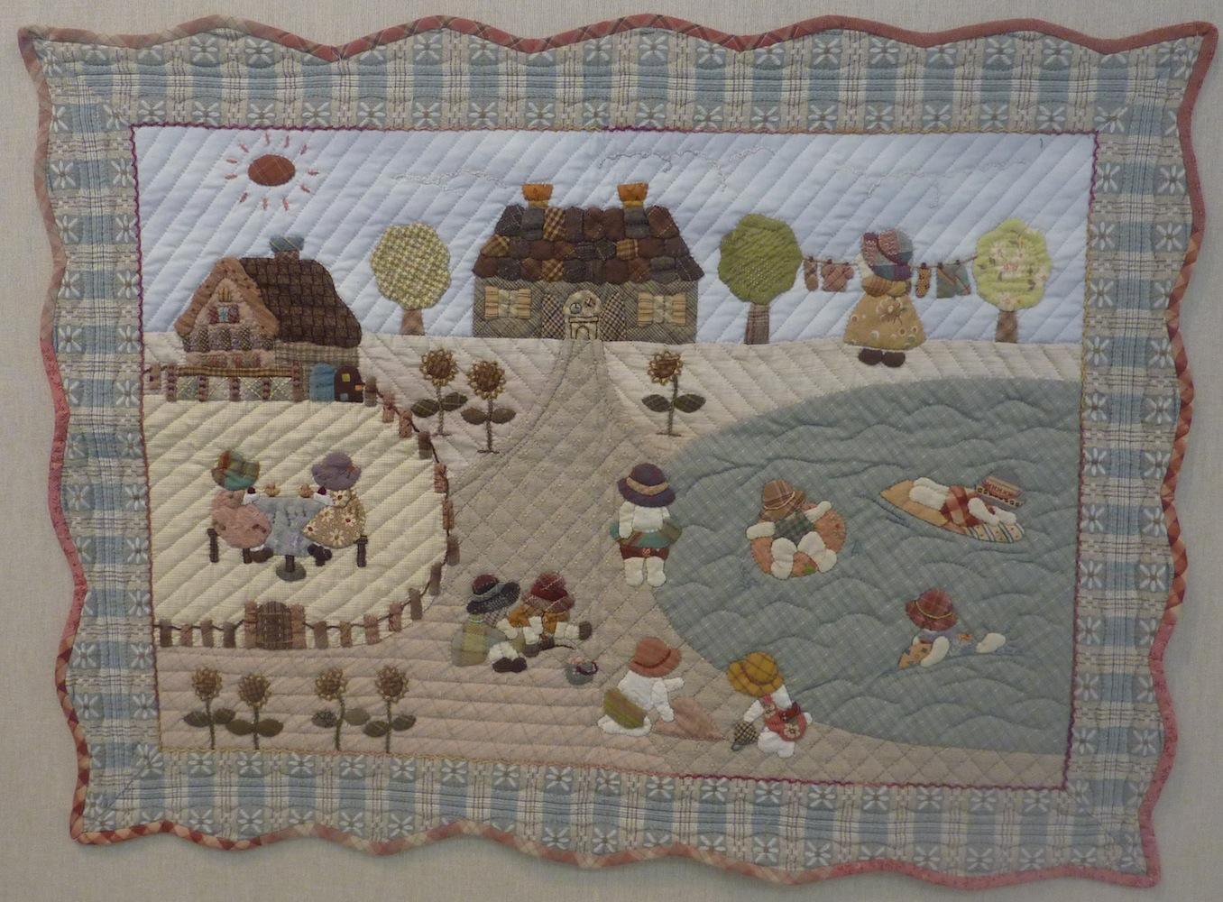 Patchwork y quilting japon s reiko kato on pinterest - Reiko kato patchwork ...