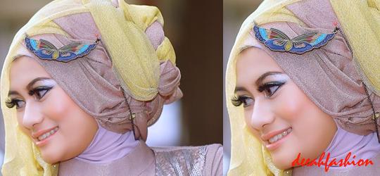 Jilbab Chic Untuk Pernikahan Wedding Hijab