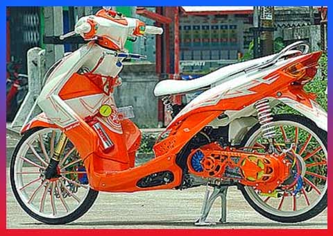 Modifikasi Yahama Mio Terbaru