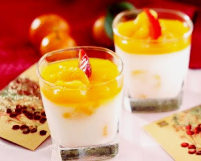 Puding Almond