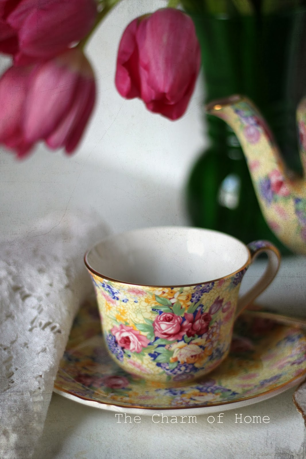 Spring Tea, The Charm of Home