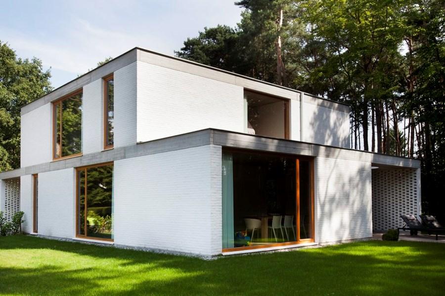 Duffel huis modern house by bulkarchitecten architecture in belgium