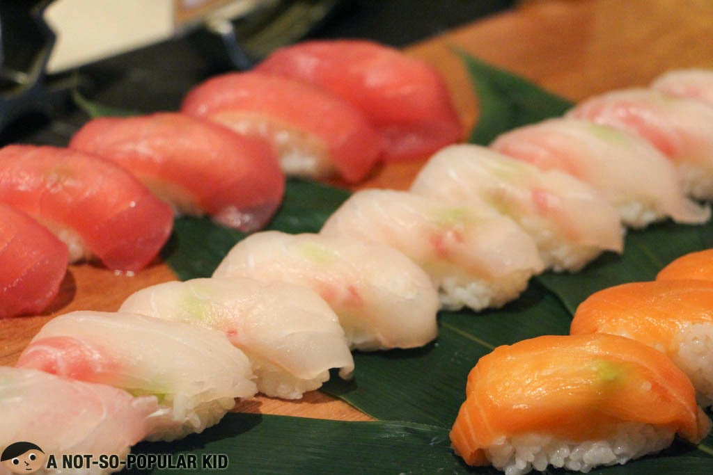 Sushi in Corniche, Diamond Hotel's Restaurant