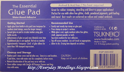 Glue Pad Instructions