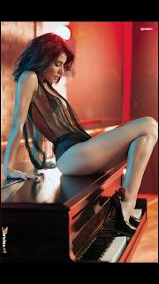 FOTOS: Maria Leon vocalista Playa Limbo Revista H para hombres Agosto 2013 1