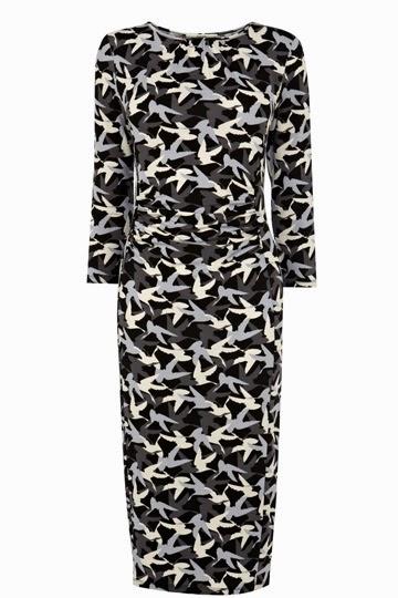 camo bird dress