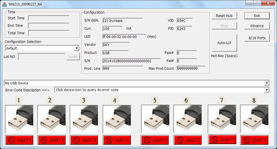 Skymedi SK6211BA Format software
