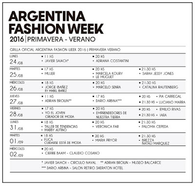 BAAM 43º Edicion Argentina Fashion Week