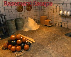Juegos de Escape Basement Escape