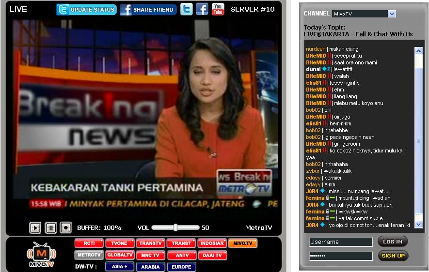 mivo tv online indonesia live tv one