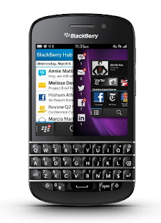 Blackberry Q10 Warna Hitam