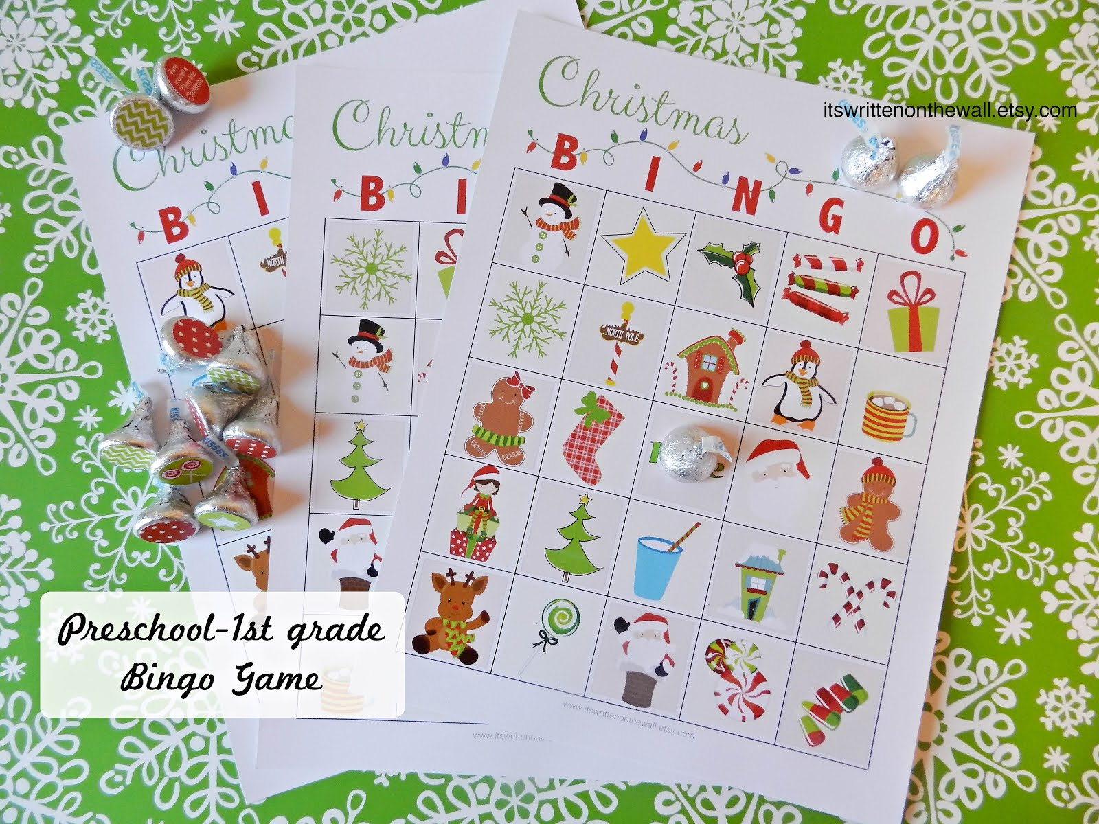 Christmas Bingo For younger and older kids