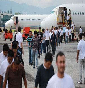 Siguen llegando los vuelos con deportados
