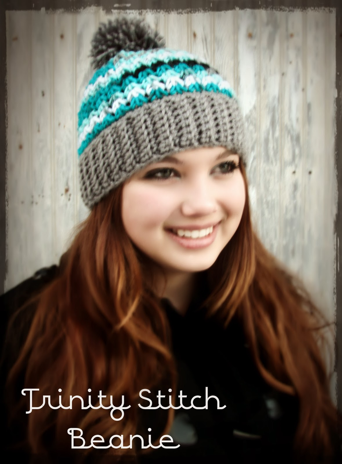 Free Crochet Pattern For Child Slouch Hat : This Housewife Life: Trinity Hat Beanie ~ With or Without ...